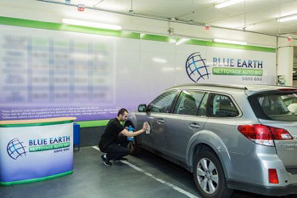 Blue earth nettoyage bio sans eau de votre voiture - Val thoiry horaire ...